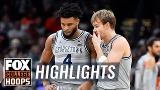 Mac McClung lifts Georgetown past rival Syracuse w/26 pt performance | FOX COLLEGE HOOPS HIGHLIGHTS by FOX Sports