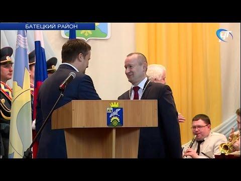 В Батецком прошла инаугурация нового главы района