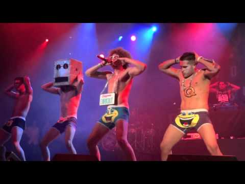 lmfao - December 12, 2011 LMFAO performing their hit song 