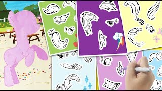Video Create a pony MLP sticker activity book My little pony coloring for kids MP3, 3GP, MP4, WEBM, AVI, FLV Januari 2019