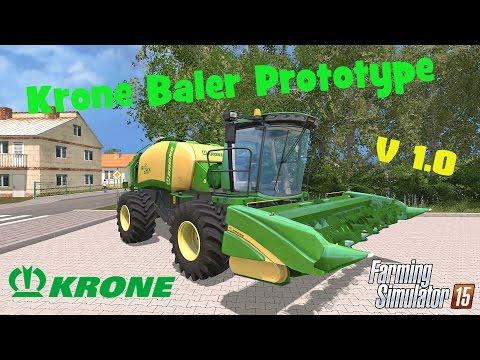 Krone Baler Prototype Edited