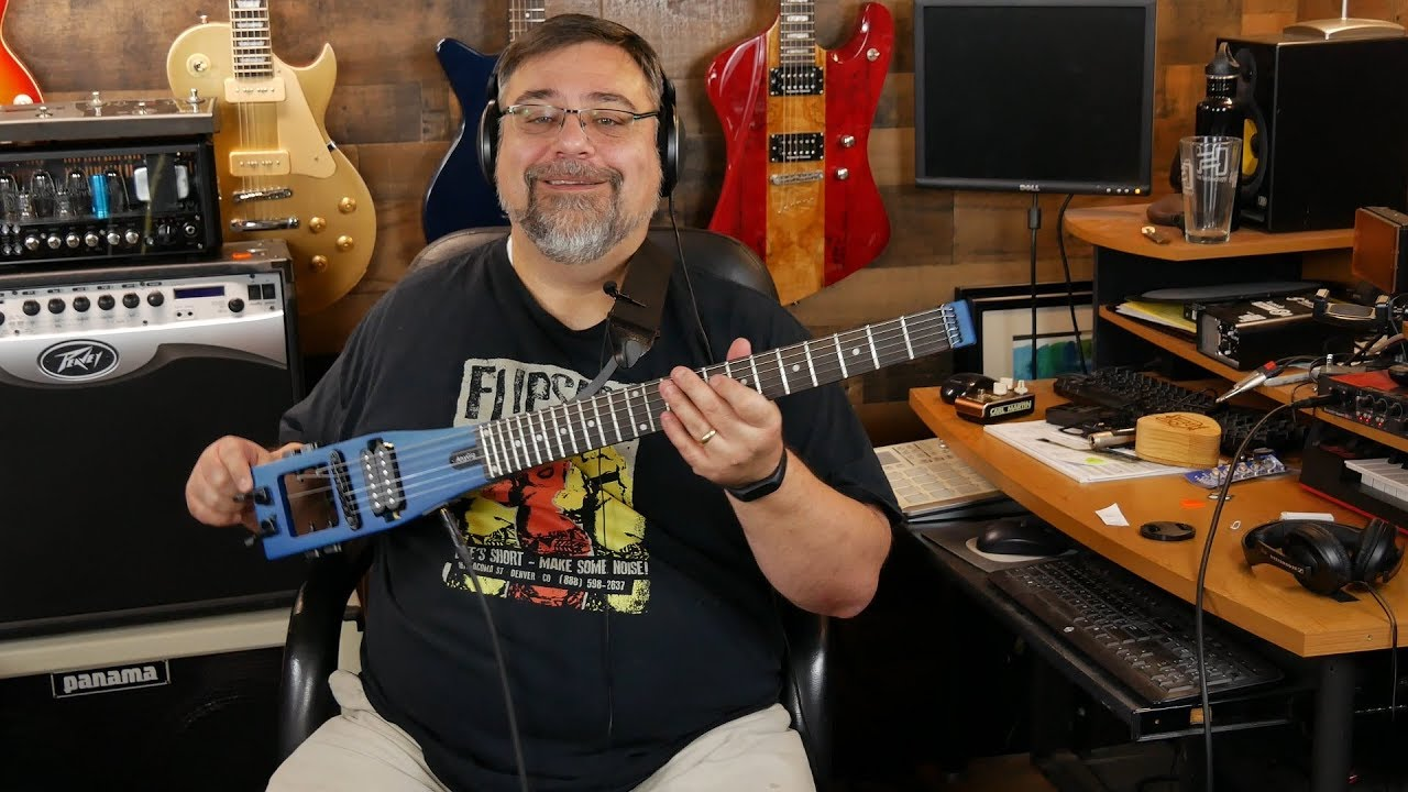 Anygig Travel Electric Guitar