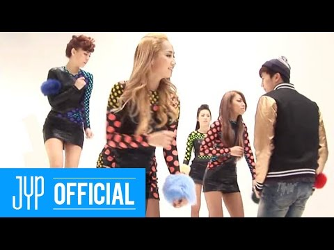 [Real WG] Wonder Girls & friends on the set of 'BE MY BABY' MV shoot