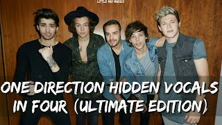 ONE DIRECTION HIDDEN VOCALS IN FOUR (ULTIMATE EDITION)