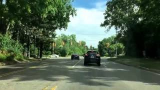 Waterford (MI) United States  city photo : Driving from Waterford, Michigan to West Bloomfield, Michigan