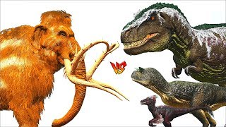 Nonton Ark Survival   Mammoth Vs Raptor Carno Rex And More  Ep 290  Film Subtitle Indonesia Streaming Movie Download