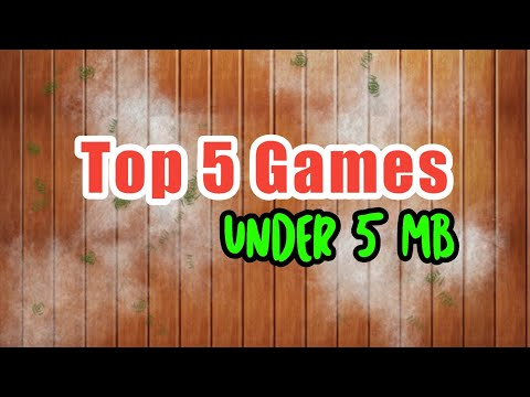 Top 5 Offline Games For Android Under 5mb