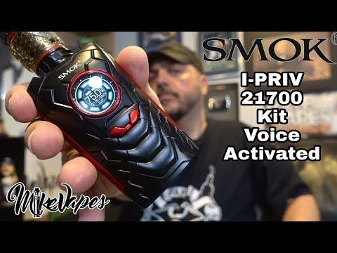 Smok I-PRIV 18650-21700 Kit - Voice Commands!! - Mike Vapes