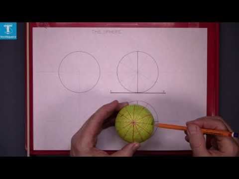 Orthographic Projection The Sphere (ii)