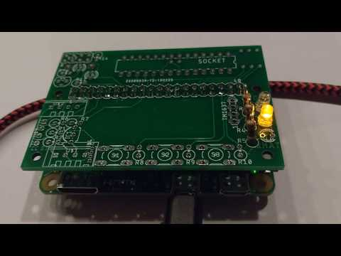 Raspberry Pi GC2-xHAT EEPROM/LED test