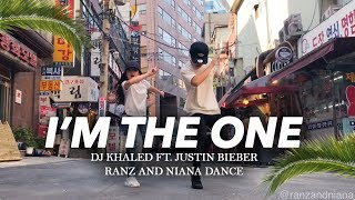 Download Lagu I'M THE ONE - DJ Khaled ft Justin Bieber Dance | Ranz and Niana Mp3