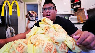 Video Massive 30 McDonalds Cheeseburger Pile MP3, 3GP, MP4, WEBM, AVI, FLV Oktober 2018