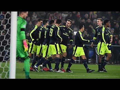 Basel vs Arsenal 1-4 All goals and Highlights Champions League 06/12/2016 Hd