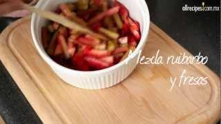 Como hacer pancota con fresa