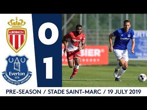 Video: PRE-SEASON HIGHLIGHTS: AS MONACO 0-1 EVERTON