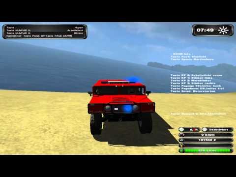 LS 11 Feuerwehr Hummer by DieDemoTester