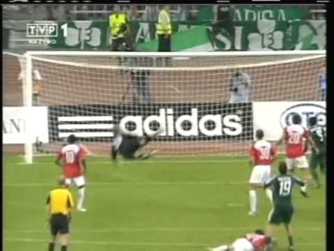 2005 August 24 Panathinaikos Greece 4 Wisla Krakow Poland 1 Champions League