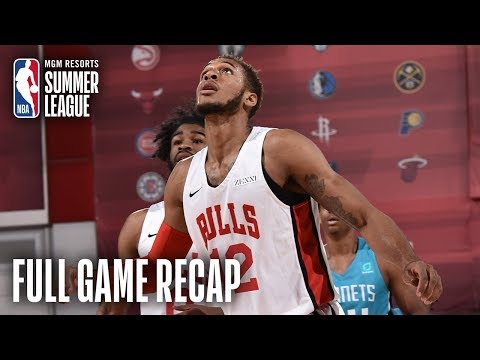 Video: HORNETS vs BULLS | Daniel Gafford Posts Double-Double | MGM Resorts NBA Summer League