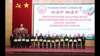 TP Uông Bí: Gặp mặt người có công tiêu biểu