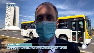 Rodrigo Manga prefeito de Sorocaba está em Brasília buscando investimentos para a cidade
