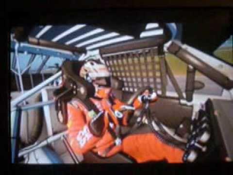 Tony Stewart #14 Talladega Win- NASCAR the Game 2011 (видео)