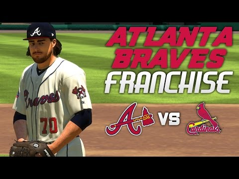 MLB The Show 17: Braves Franchise vs Cardinals [G31 S1, Ep. 8] - POWER SURGE