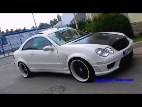 Tuned Mercedes-Benz CLK C209 on Forged Wheels
