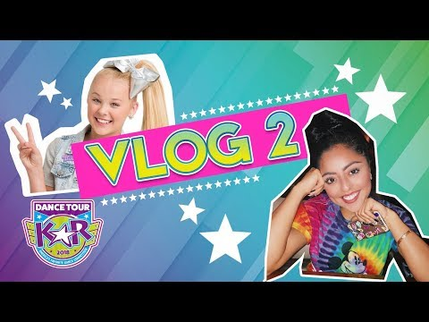 OMG JOJO SIWA AND JAZMINE LUCERO at our 1st Competition!!