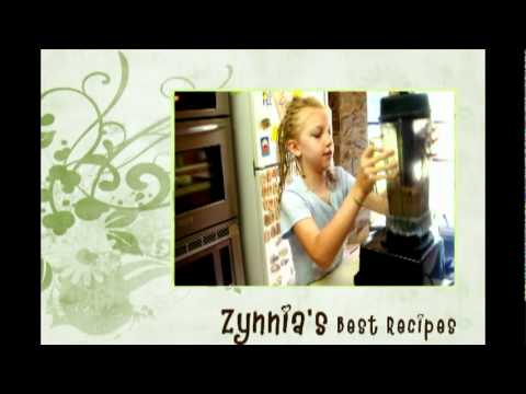 0 Zynnia Recipes   Episode 1  Raw Ice Cream