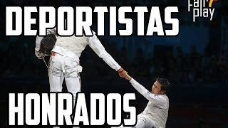 Los 5 gestos mas honrados en el deporte