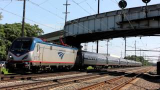 Levittown (PA) United States  city photos gallery : Amtrak/SEPTA Northeast Corridor Action at Levittown, PA
