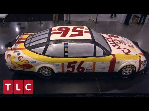 A Life-Size Race Car Cake | Cake Boss