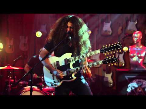 center - An exclusive clip of Coheed and Cambria performing