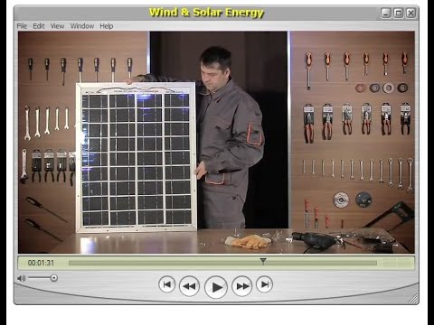 Wind and solar power for home use.