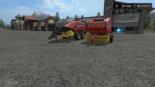 Landwirtschafts Simulator 2017 Modvorstellung #9 New Holland Roll Belt 460 + Big Baler 340