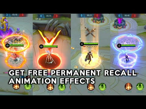 FREE PERMANENT RECALL EFFECTS WORK101%✅ | MOBILE LEGENDS