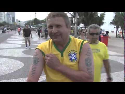 Alemães confiam na vitória contra o Brasil