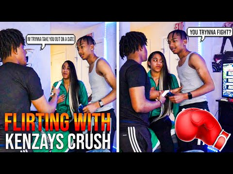 "I INVITED Kenzay EX ""Ray"" OVER AND FLIRTED WITH HER TO SEE HIS REACTION.. 💔 (F!GHT BR0KE OUT)"