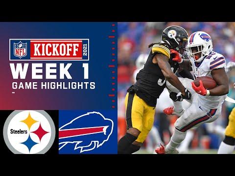 Steelers vs. Bills Week 1 Highlights | NFL 2021