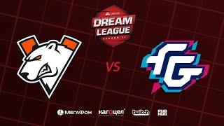 Virtus.pro vs Forward Gaming, DreamLeague Season 11 Major, bo3, game 1 [Jam & Maelstorm]