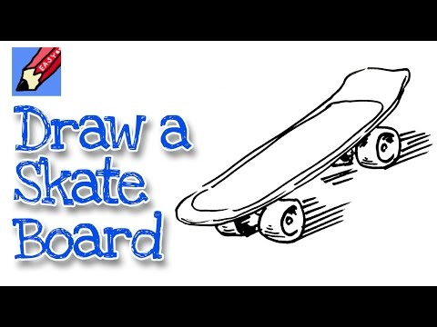 How To Draw A Skateboard Real Easy Shoo Rayner Author