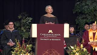 Commencement Speaker Marcia L. Page - Carlson School
