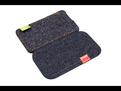 Review: Almwild vs. Freiwild Sleeve für iPhone 5 aus Wollfilz - Vergleich der Taschen/ Hüllen