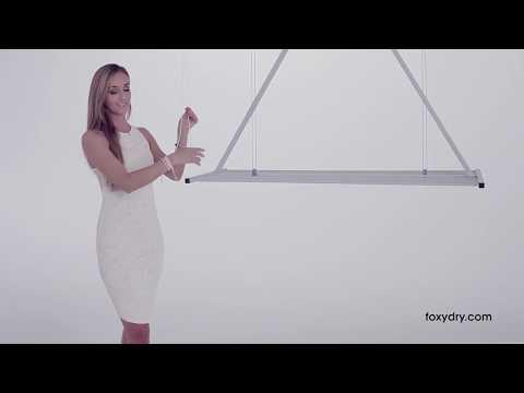 FoxyDry MINI   Lo stendibiancheria manuale da soffitto