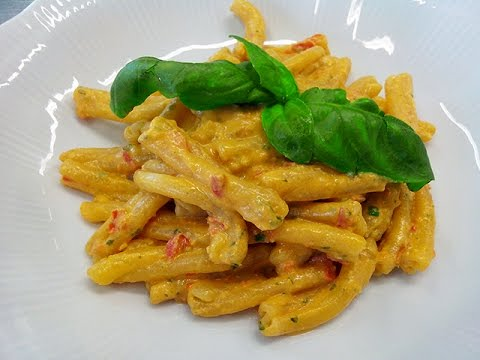 caserecce con pesto alla siciliana - ricetta
