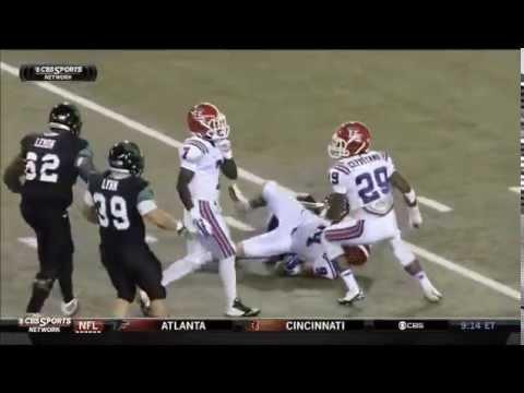 Houston Bates Game Highlights vs North Texas 2014 video.