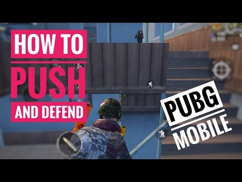 How To PUSH And DEFEND Against Enemies (With Examples) PUBG MOBILE