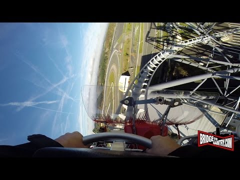First ride of the RingºRacer Nürburgring Rollercoaster! GoPro Hero3+ Superview