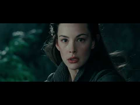 LOTR The Fellowship of the Ring - Arwen takes Frodo to Rivendell / Flight to the Ford / Nazgul Chase