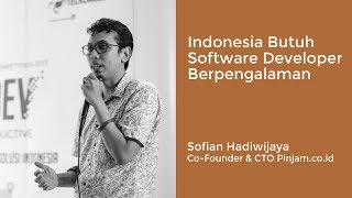This video covered our regular TECH TALK event (interview session) with Sofian Hadiwijaya, CTO Pinjam.co.id and Rayhan, ...